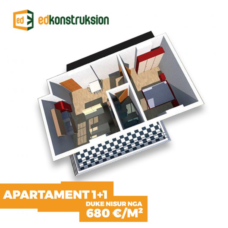 Apartamente 1+1