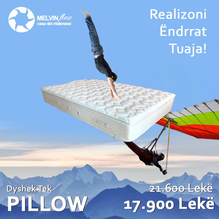 MelvinFlex pillow tek