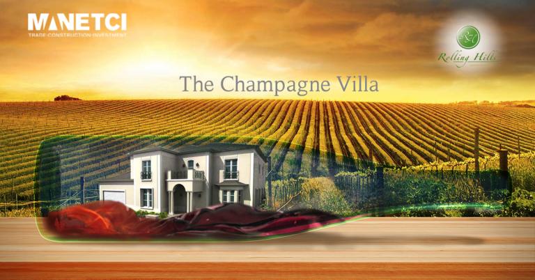 champagne villa